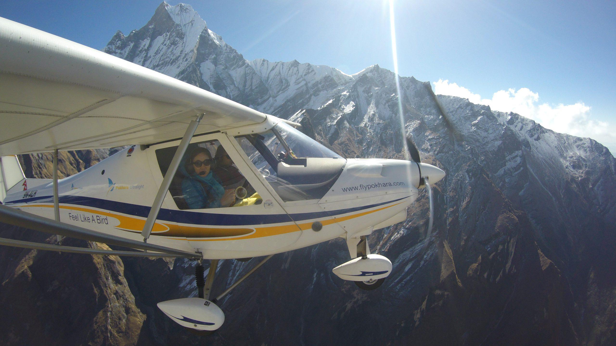 pokhara ultralight flight